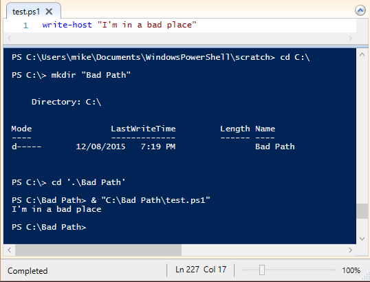 PowerShell Code Smell: Invoke-Expression (and some