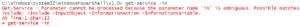 AmbiguousParameter error
