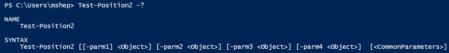 Specifying PowerShell Parameter Position - PowerShell Station